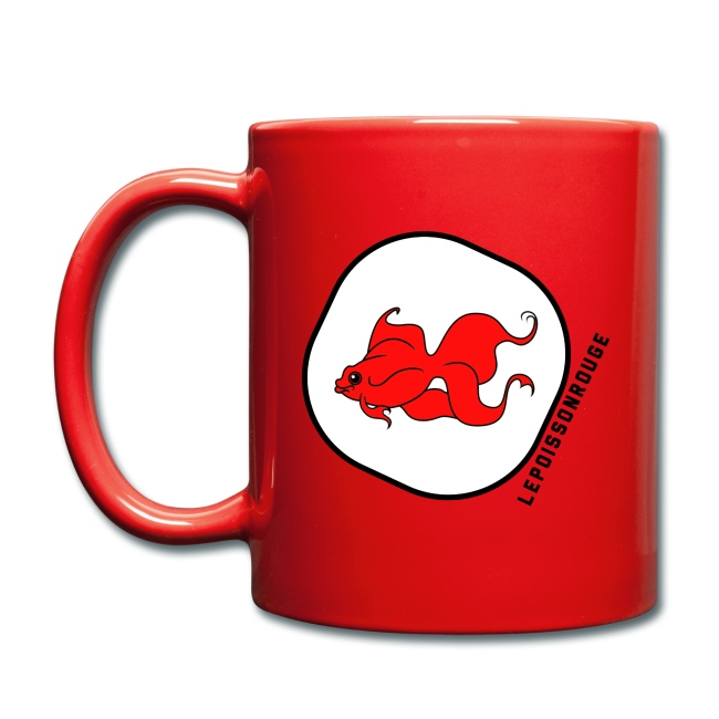 Le mug rouge