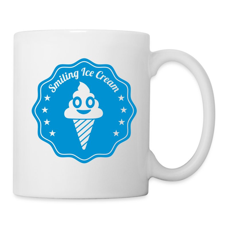 Smiling Ice Cream Batch - Tasse