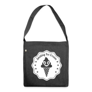 Smiling Ice Cream Batch - Schultertasche aus Recycling-Material