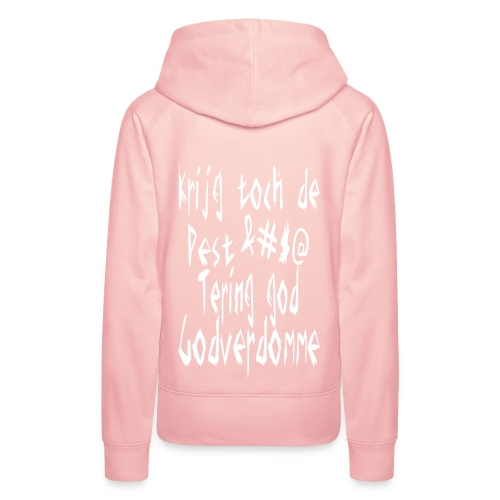 Woman Hoodie '&#$@' - Sweat-shirt à capuche Premium pour femmes