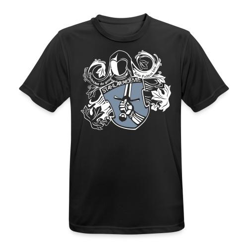Stahlwappen - Herren-Trainingsshirt - Männer T-Shirt atmungsaktiv