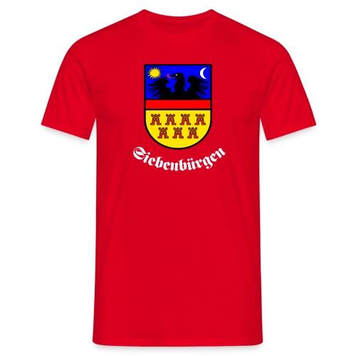 TShirt mit großem Siebenbürgen-Wappen und Schrift Siebenbürgen - Männer T-Shirt