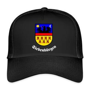 Schicke Kappe mit dem Siebenbürgen-Wappen - Trucker Cap