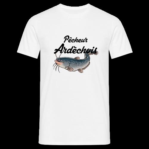 Pêcheur Ardèchois Silure - T-shirt Homme