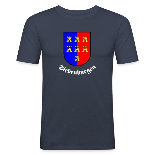 """T-Shirt """"Siebenbürgen"""" mit dem Wappen der Siebenbürger Sachsen"""