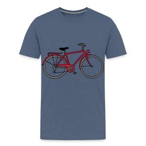 Fahrrad 3 - Teenager Premium T-Shirt