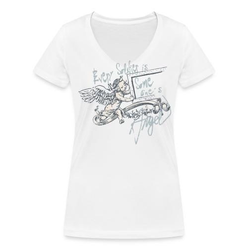 Every soldier is... (bleu) - Frauen Bio-T-Shirt mit V-Ausschnitt von Stanley & Stella