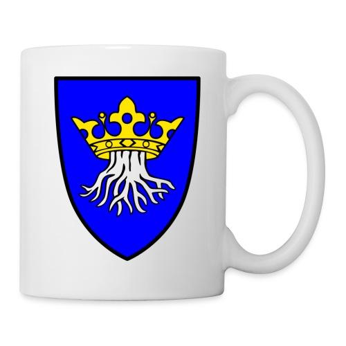 Tasse mit dem Wappen von Kronstadt in Siebenbürgen - Transylvania - Erdely - Ardeal - Tasse