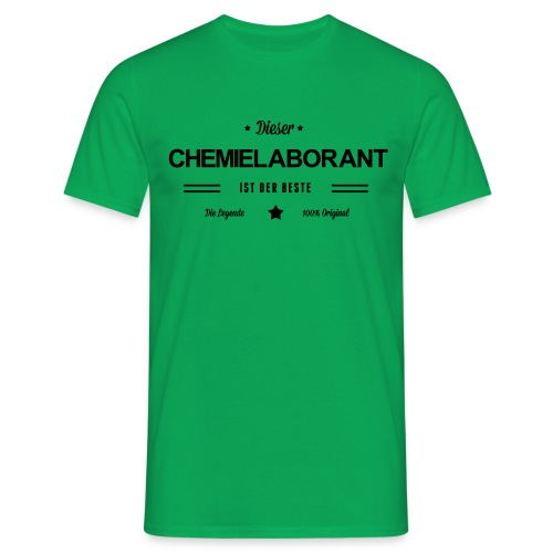 Bester Chemielaborant - Männer T-Shirt