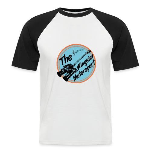 Wingeier Motorsport 50's Shirt Doppelvergaser Gitarre - Männer Baseball-T-Shirt