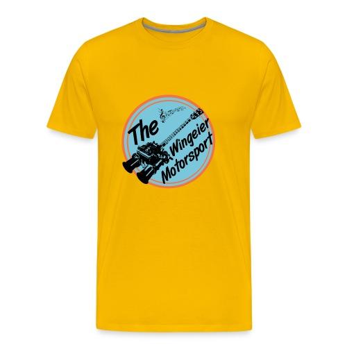 Wingeier Motorsport 50's Shirt Doppelvergaser Gitarre - Männer Premium T-Shirt