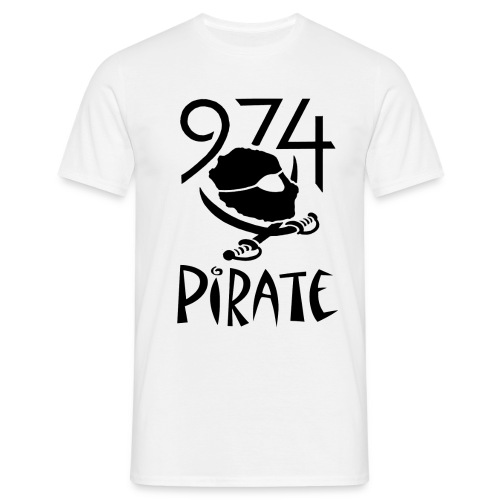 974PIRATEBL - T-shirt Homme