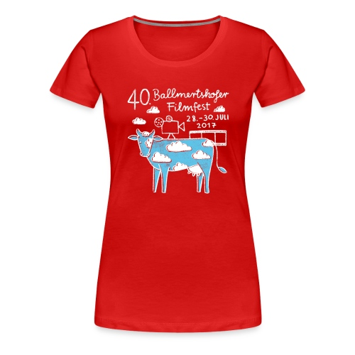 Frauen T-Shirt Rundhals, 2017 - Frauen Premium T-Shirt