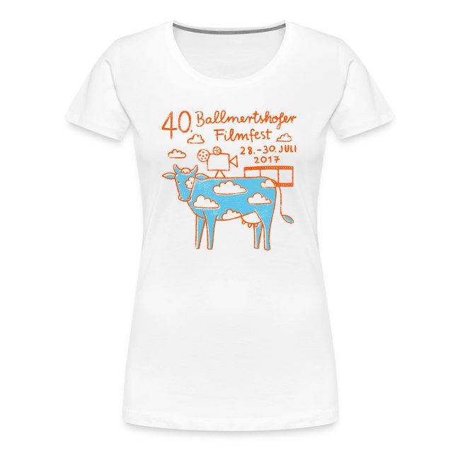 Frauen T-Shirt Rundhals, 2017