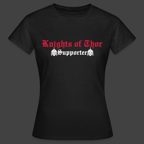 Supporter / Brotherhood T-Shirt Frauen - Frauen T-Shirt