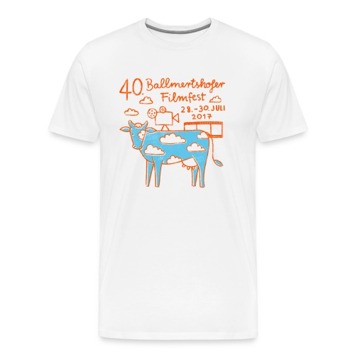 Männer T-Shirt Rundhals,  2017 - Männer Premium T-Shirt