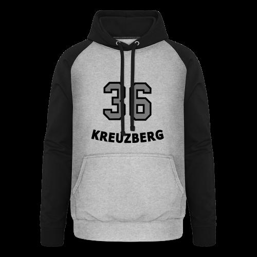 KREUZBERG 36 - Unisex Baseball Hoodie