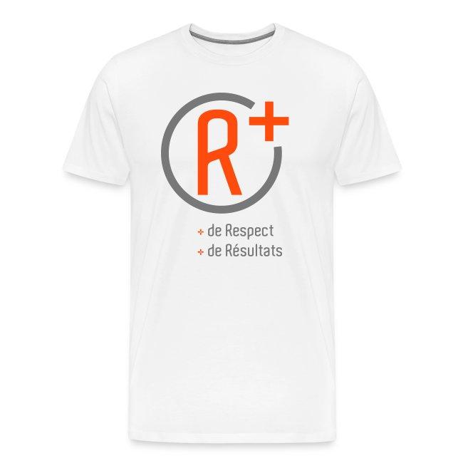 t shirt R+ Homme