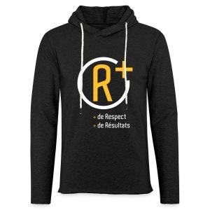sweat R+  - Sweat-shirt à capuche léger unisexe