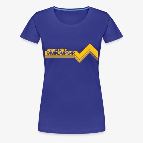 Famikompisar t-shirt (dam) - Premium-T-shirt dam