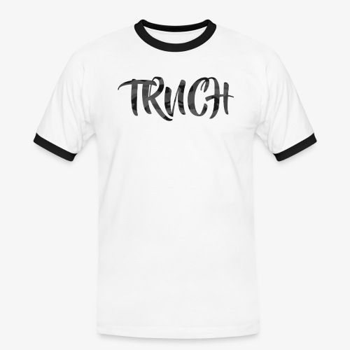 TRNCH White T-shirt - Men's Ringer Shirt