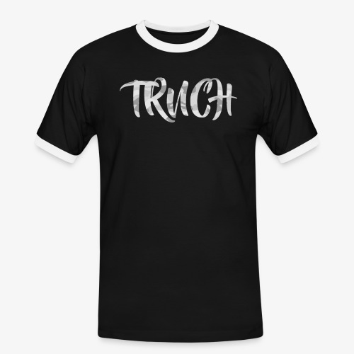 TRNCH Black T-shirt - Men's Ringer Shirt