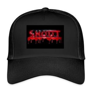 S.H.O.U.T - Blood Logo  - Trucker Cap