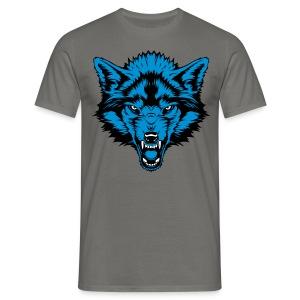 Men's T-Shirt - Blue Wolf - Men's T-Shirt