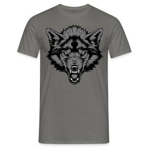 Men's T-Shirt - Grey Wolf - Men's T-Shirt