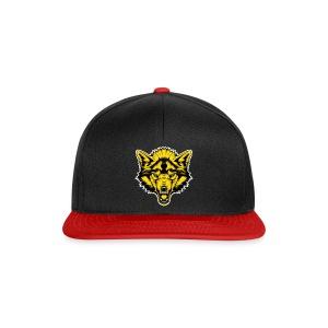 Snapback Cap - Gold Wolf - Snapback Cap