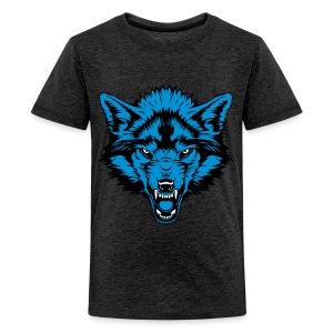 Teenage Premium T-Shirt - Blue Wolf - Teenage Premium T-Shirt