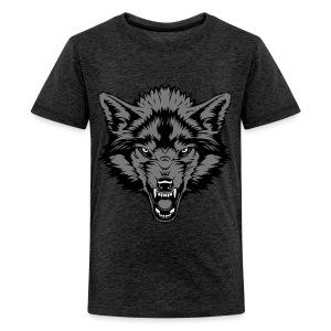 Teenage Premium T-Shirt - Grey Wolf - Teenage Premium T-Shirt
