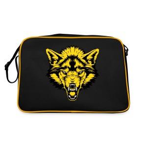 Retro Bag - Gold Wolf - Retro Bag