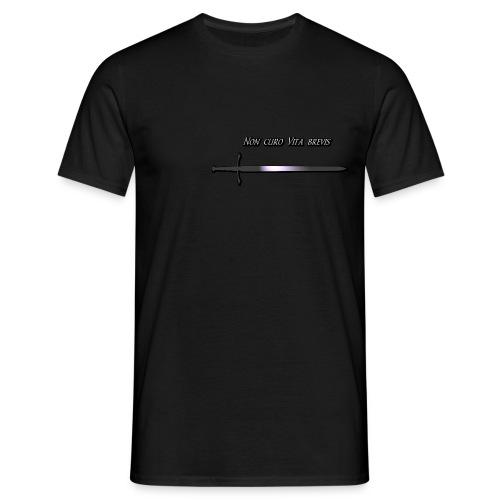 Non curo Vita brevis - T-shirt Homme