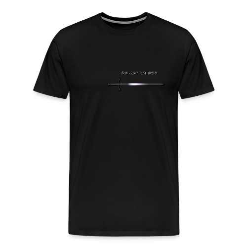 Non Curo Vita brevis - T-shirt Premium Homme