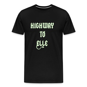 Highway To Elle TS H Premium phosphorescent  - T-shirt Premium Homme