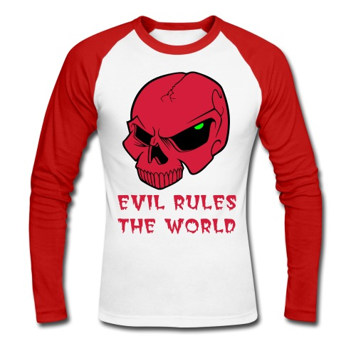 EVIL RULES - Men's Long Sleeve Baseball T-Shirt