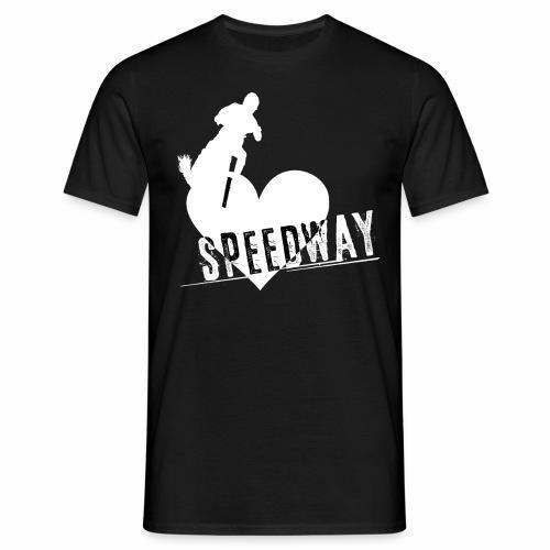 I love Speedway Shirt (weißer Druck) - Männer T-Shirt