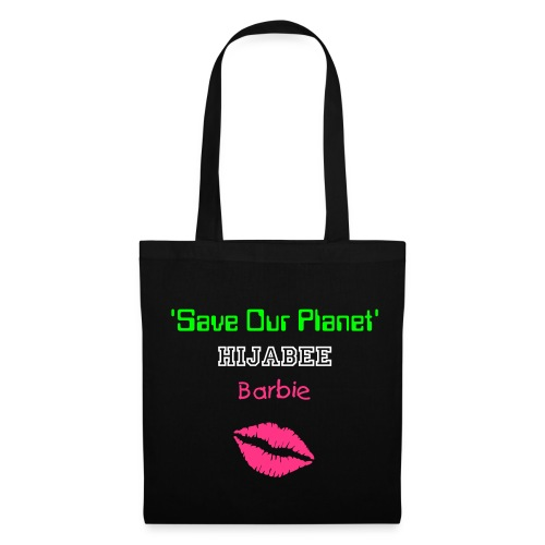 Hijabee Barbie Bumper Sticker - Tote Bag