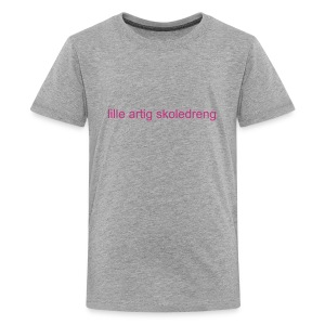 lille artig skoledreng (teenager) - Teenager premium T-shirt
