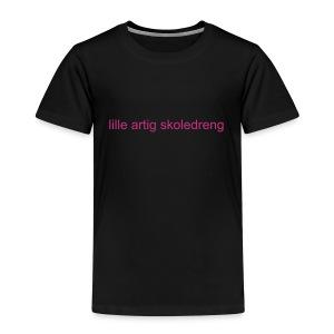 lille artig skoledreng (barn) - Børne premium T-shirt
