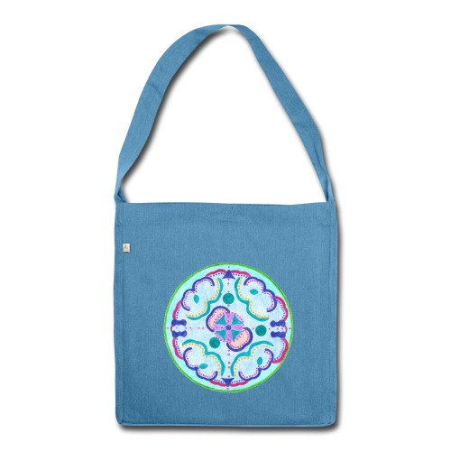 Creativity Peace  - Borsa in materiale riciclato