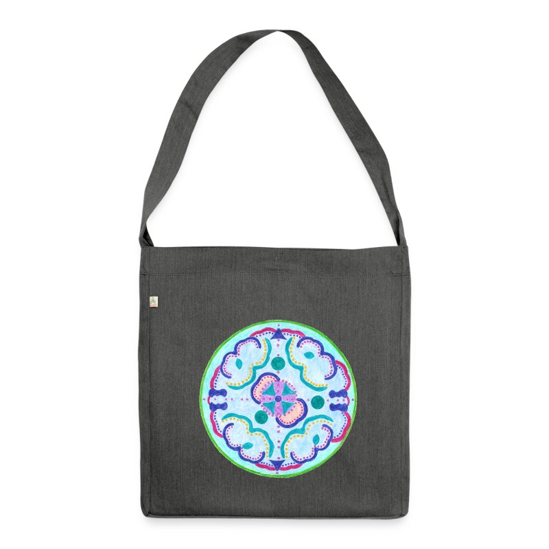 Creativity Peace organic cotton bag - Borsa in materiale riciclato