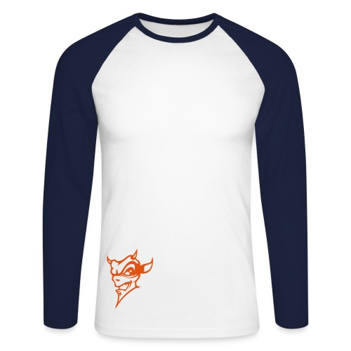 DevilRed - T-shirt baseball manches longues Homme