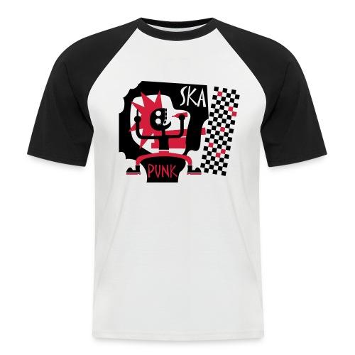 ska punk - Männer Baseball-T-Shirt