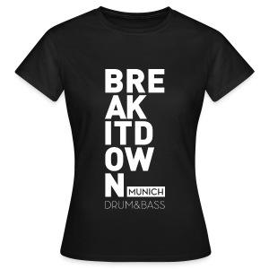 Girl Black 2017 - Frauen T-Shirt