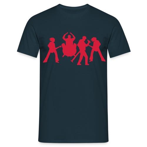 band t-shirt (herre) - T-skjorte for menn