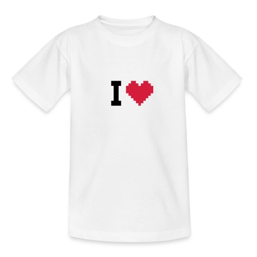 tee-shirt enfant I love - T-shirt Ado