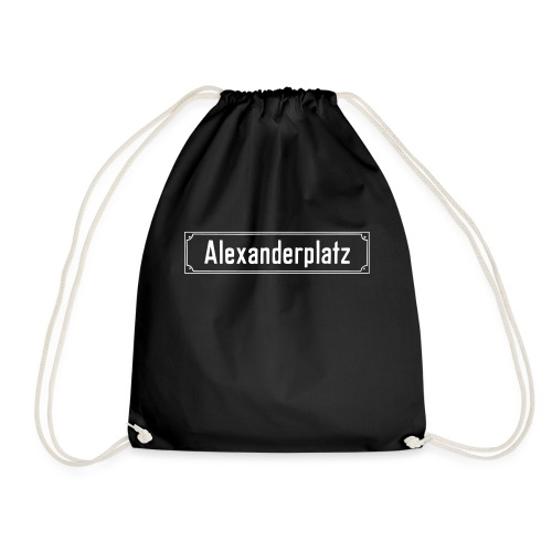 Alexanderplatz Berlin  - Turnbeutel