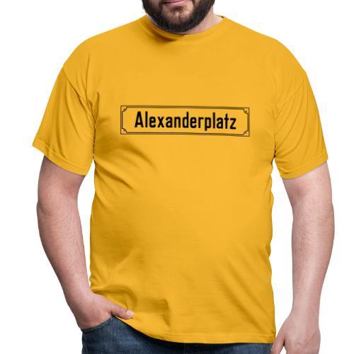 Alexanderplatz Berlin  - Männer T-Shirt